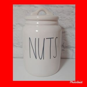 Rae Dunn 🌰🥜 NUTS 🥜🌰 Small Canister